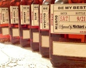 Will you be my Groomsman - Wedding Groomsman Liquor Labels - Will you be my Best Man - Groomsmen Labels - 7