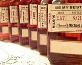 Private Listing for idofuturemrsmrtoledo Will you be my Groomsman - Wedding Groomsman Liquor Labels - Will you be my Best Man - Groomsmen