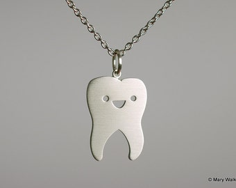 Happy Tooth Necklace