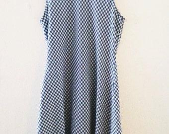 SALE - 90's Checkered Dress