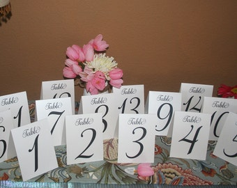 Wedding Table Numbers Rustic Table Numbers Kraft Table Numbers Wedding Table Decor & Table Numbers Rustic Table Number Wedding Table Numbers
