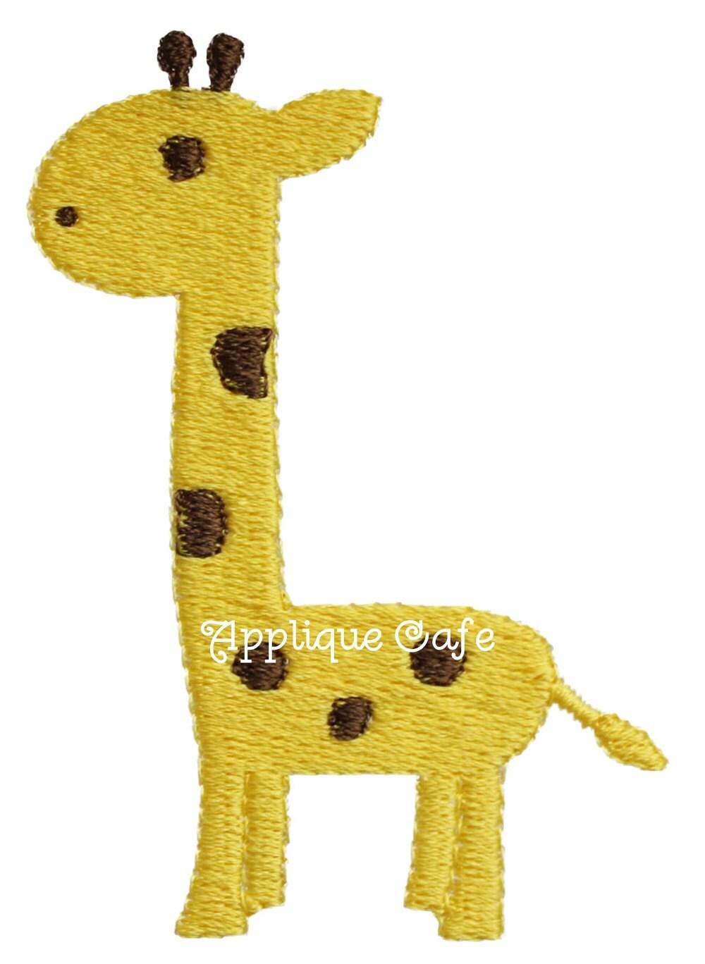 617 Mini Embroidery Giraffe Machine Embroidery Design
