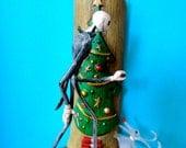 Jack and Zero the Dog Custom Christmas Ornament
