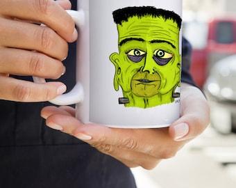Frankenstein Mug | Horror | Universal Monsters | Halloween | Film | Literature | Comic | Psychobilly | Zombie | Boris Karloff