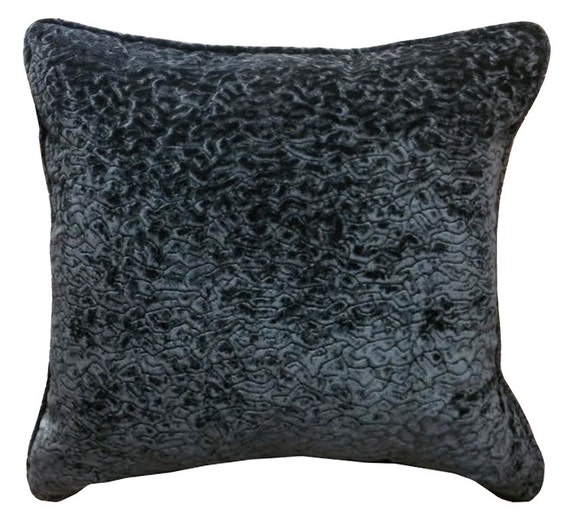 Throw Pillows Velvet : Black Velvet Pillow Decorative Pillow Velvet by SPCustomDrapery