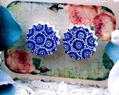 Buy 1 Get 1 Free - 20pcs 17.5mm (WD10)  Explosion  Handmade Photo Wood Cut Cabochon (Back White)