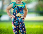 Eliana Romper Sewing Patter PDF