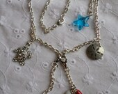 Seasore Charm Chained Necklace