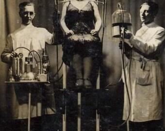 Electric Head Oddity, Archival Quality Print