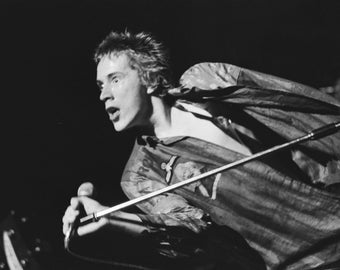 Johnny Rotten, Poster, Archival Quality Print