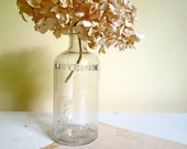 Vintage Clear Glass Bottle, Listerine Lambert Company, Early 20th Century