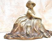 Vintage French Statue