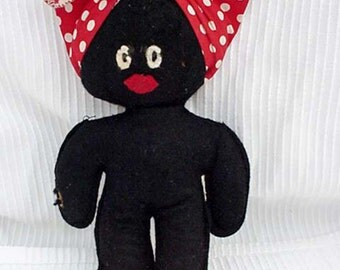 Stuffed Mammy Doll Toys & Games Dolls Playsets and Toy Figurines Dolls Black Memorabilia Black Americana Collectibles