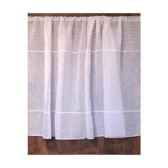 Linen Curtain, Net Curtain, Narrow Window Curtain, Sidelight Curtain ...
