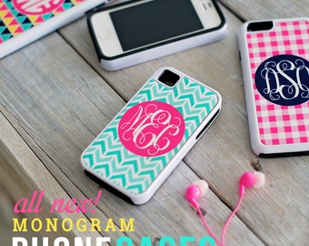 SALE iPhone 6 Cell Phone Case Personalized Monogrammed