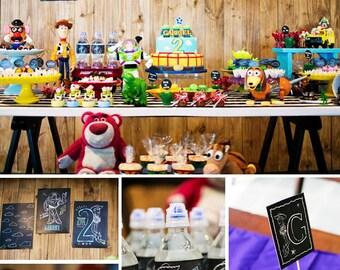 Toy Story Birthday | Toy Story Party | Toy Story Party Printable | Toy Story Decorations | Toy Story Printable