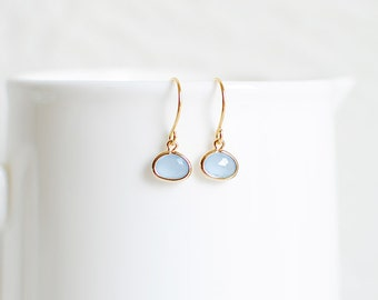Brynn Earrings - Periwinkle