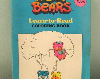 Vintage Nosy Bears Coloring Book