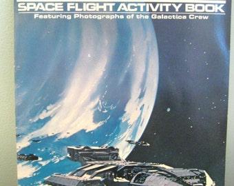 Vintage Battlestar Galactica Space Flight Activity Book