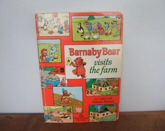 SALE! Barnaby Bear Visits The Farm by Carla and Vilhem Hansen