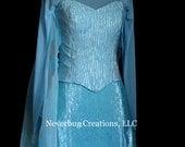 Snow Queen Elsa Costume