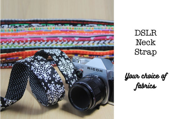 Camera Strap, DSLR, Quick Release - Choose Custom Fabrics - Made to Order