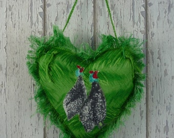 Guineafowl, Guinea Fowl, , door knob hanger, door hanger,  African bird,  Guineafowl gift,, Guinea fowl gift, Guineafowl lover, Guinea lover