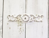 Drawer Pull Handles, , True White Decor, Kitchen Pull, Cabinet Knobs, Shabby Creamy White Decor, Small Knobs