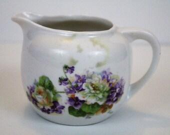 Vintage Creamer - Flowers Germany