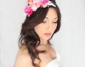 Destination Wedding, Beach Wedding, Orchids, Tropical Headpiece, Wedding Headpiece, Wedding Headband, Tiara, Beach Headpice, Beach Crown
