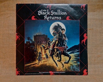 The Black Stallion Returns - 1983 Vintage Vinyl Record Album