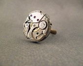 Steampunk Watch Movement Ring
