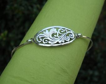 Bracelet - Bangle - Silver Bracelet - Silver Bangle - Sterling Silver Bangle Bracelet
