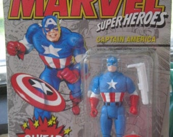 Marvel Super Heroes Action Figure Captain America NIP
