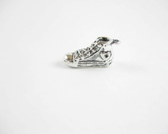 5 Sneaker Charms in Silver Tone - C2131