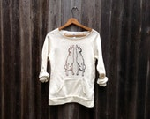 better safe than sorry Doberman Shirt, Dog Sweater, White Sweatshirt, S,M,L,XL,2XL