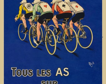 Bicyclette Gurtner Bicycle Poster (#1432) 6 sizes