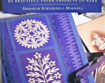 Decorative Papercutting Book, By Deborah Schneebeli-Morrell,