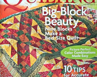 American Patchwork and Quilting, June 2008, Issue 92