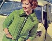 Vintage Stitchcraft Magazine Knitting Patterns for Women, Men & Children Summer Sweaters Sun Suit Craft Projects July 1960