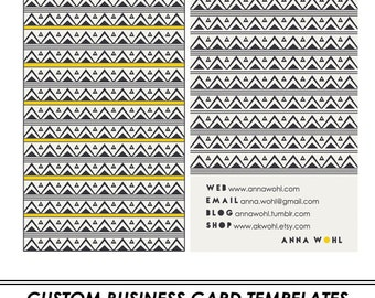 Mountains Custom Business Card Template
