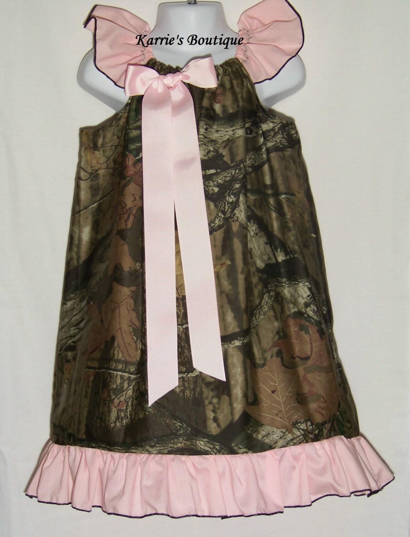 camo ruffle dress pink mossy oak camo flower girl