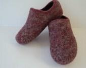 Order Women's Felted Wool Slippers
