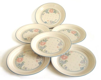 Corelle Symphony Dishes Luncheon Plates Dinner Plate Set (as-is)
