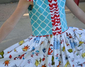 Dr Seuss Dress, Girls' Child