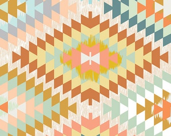 Fitted Crib Sheet Serape Dream - Kilim Crib Sheet - Aztec Crib Sheet - Aztec Crib Bedding - Baby Bedding - Gender Neutral Bedding-Baby Sheet