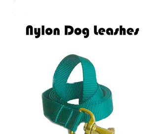 Solid Color Dog Leash, Basic Lead