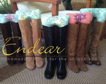 Boots Up by Endear Me Boot Stuffers Handmade Boot Trees Custom Order