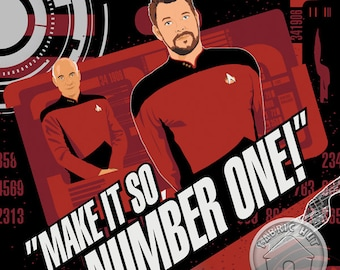 122000163 - Star Trek - Red Uniforms Quilting Cotton Fabric - Sold by the yard