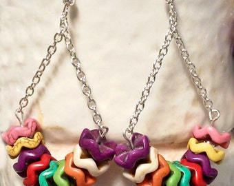 Rainbow Bright Earrings - SRA Summer Fun
